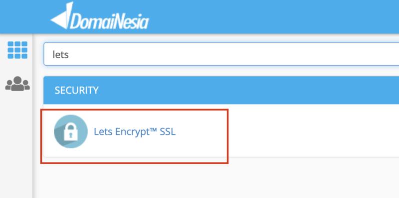 cara install let's encrypt