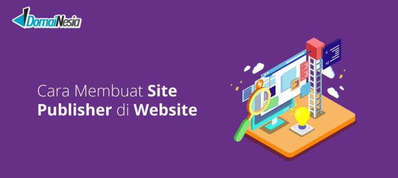 cara membuat site publisher