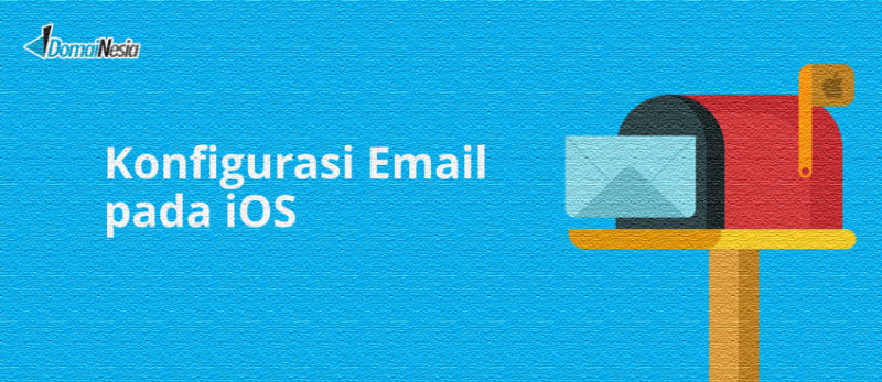 cara mengatur email di ios