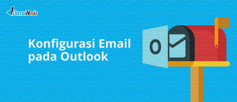 cara mengatur email di outlook pad windows