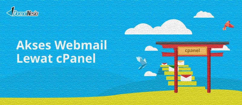 cara akses webmail email di cpanel