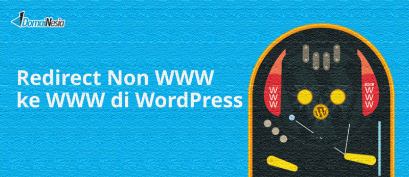 redirect non www ke www di wordpress