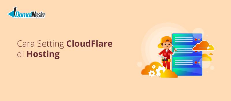 setting cloudflare di cpanel