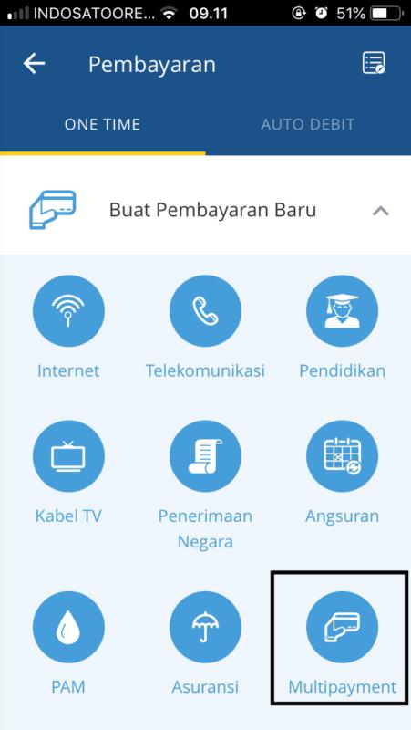 Virtual Account Mandiri mBanking
