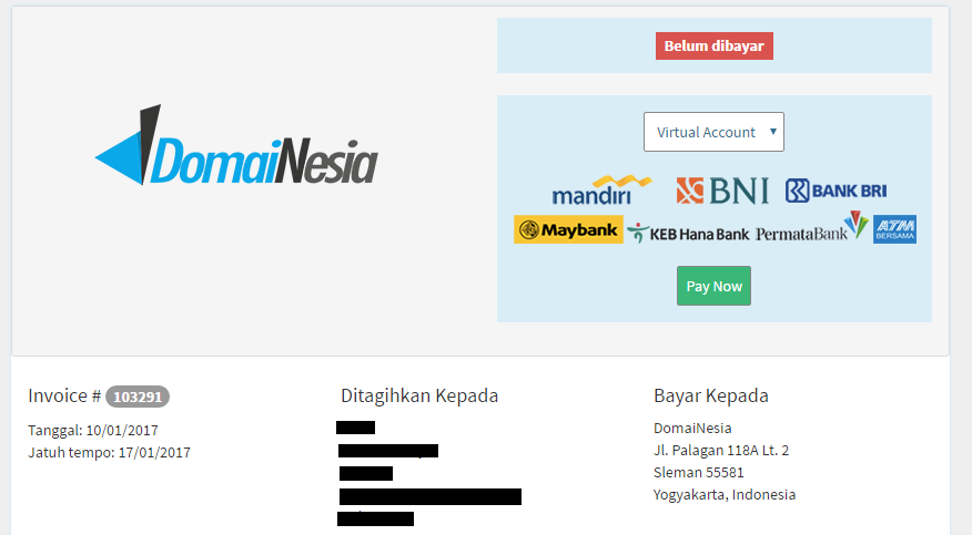 virtual account permata bank