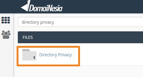 cara melindungi folder hosting dengan password di cPanel