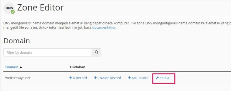 custom domain ke blogspot di cpanel