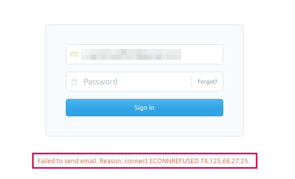 cara reset password ghost