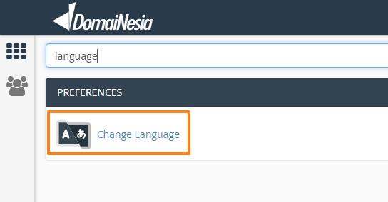 cara mengubah bahasa
