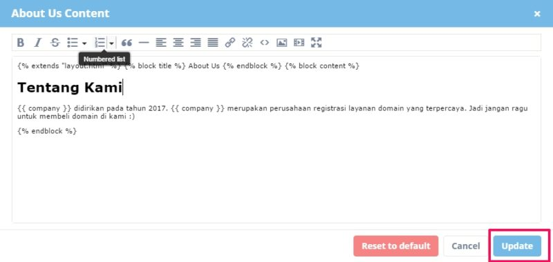toko online reseller domain