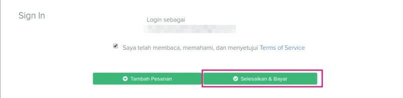 cara order ssl murah