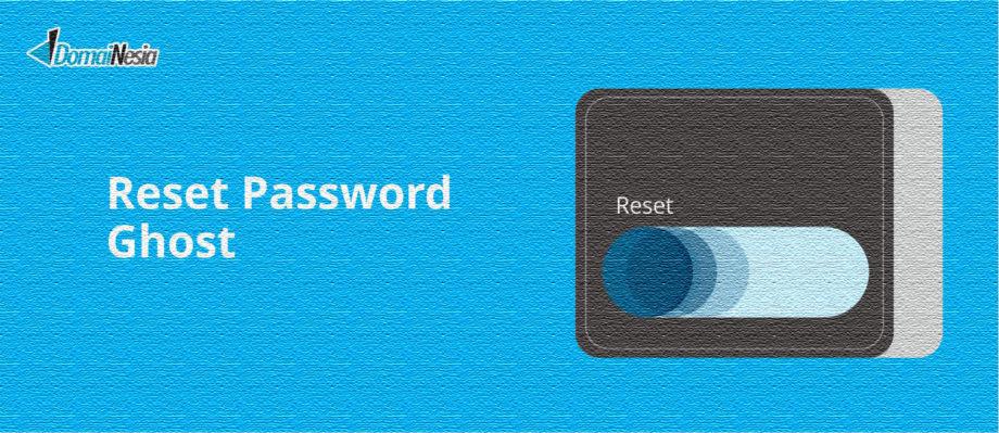 reset password ghost