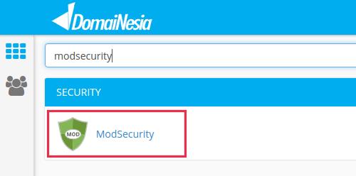 cara menggunakan modsecurity