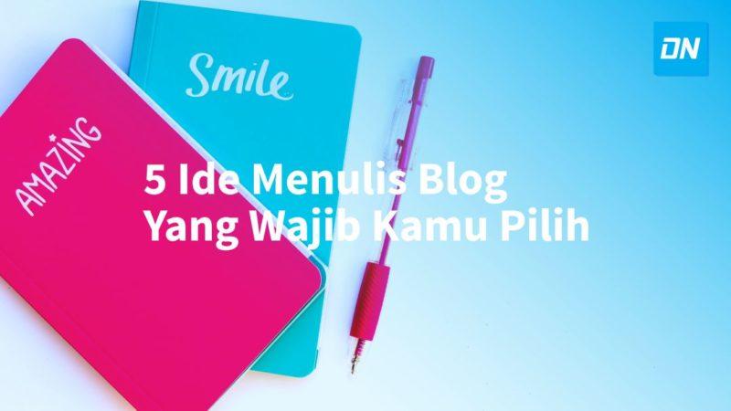 ide menulis blog