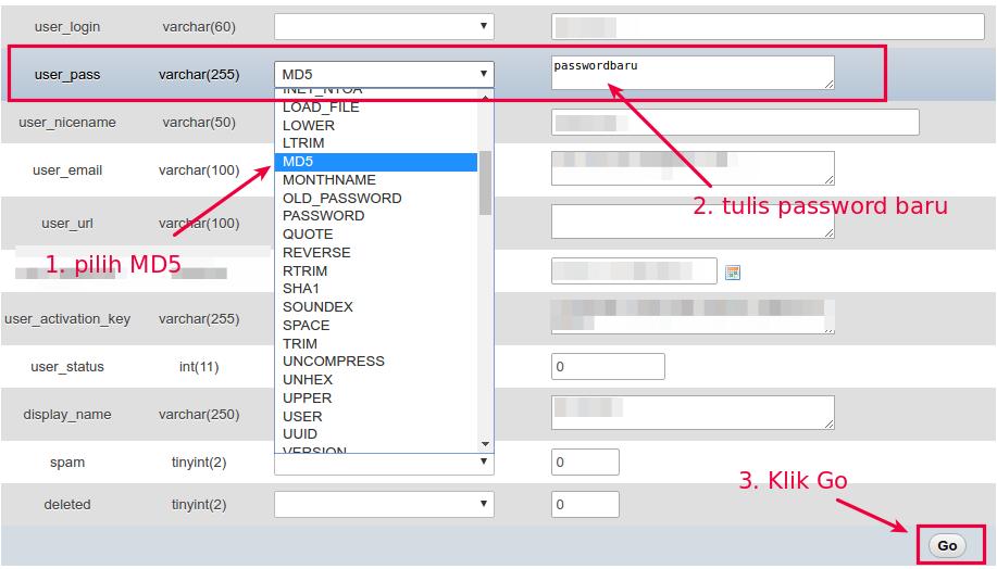 Cara Mengubah Password WordPress (Solusi Lupa Password)