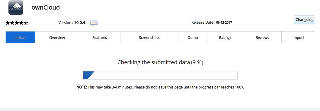 cara install owncloud di hosting