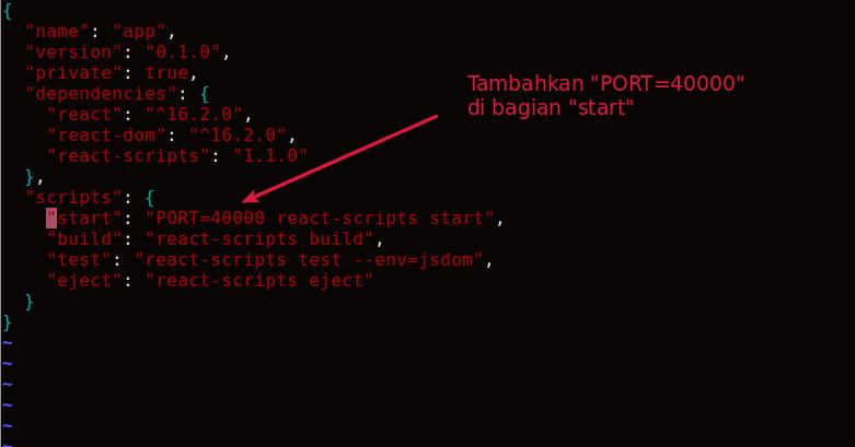 cara install react.js