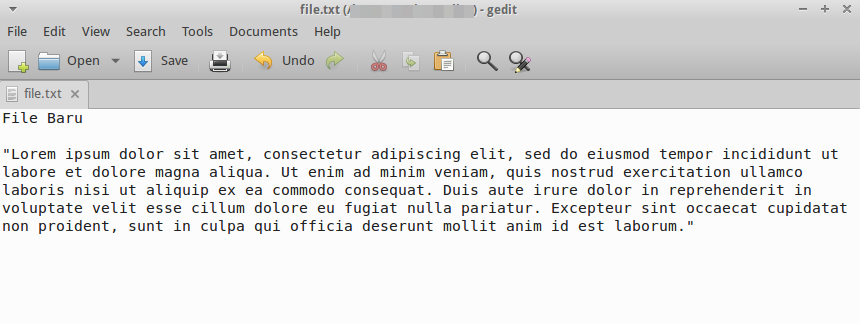 editor linux