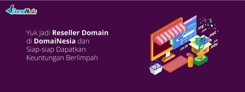 reseller domain di domainesia