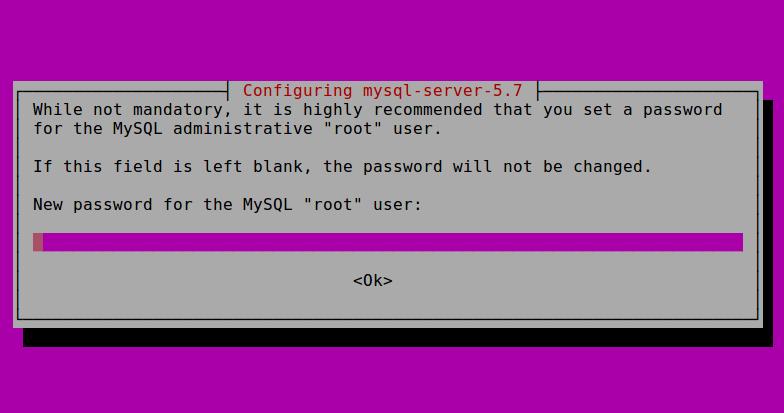 cara install mysql di vps