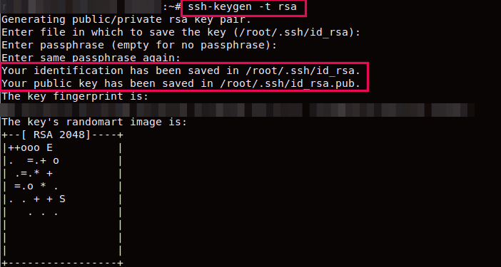cara install ssh keys di vps