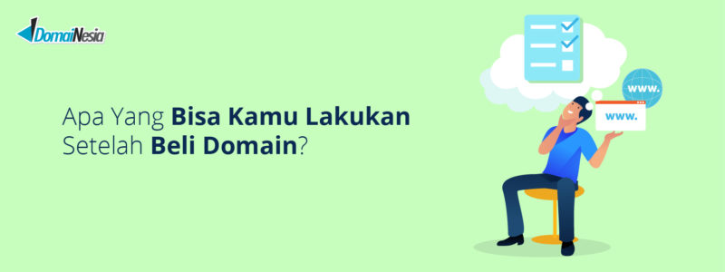 cara menggunakan domain
