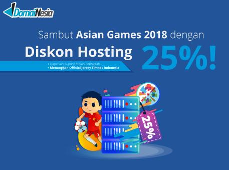 diskon asian games 2018