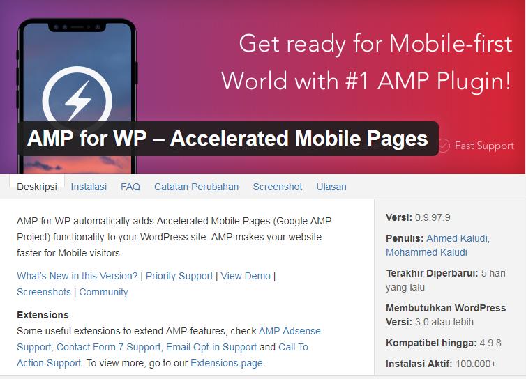 Cara Mempercepat Proses Website Dengan AMP