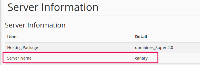 Cara mengetahui nama server hosting