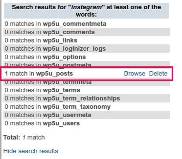 cara menghapus post di wordpress