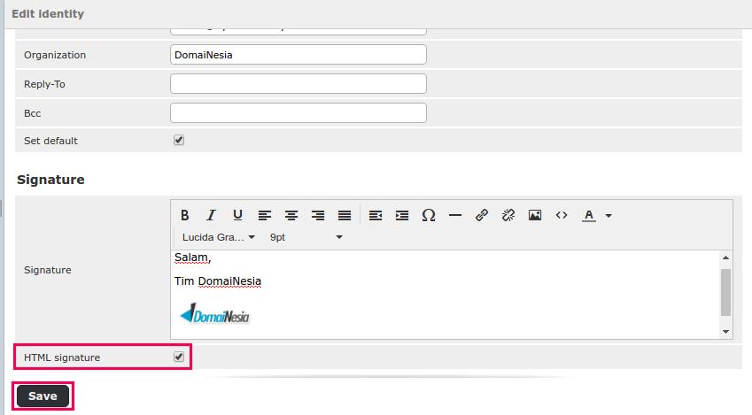 cara membuat email signature