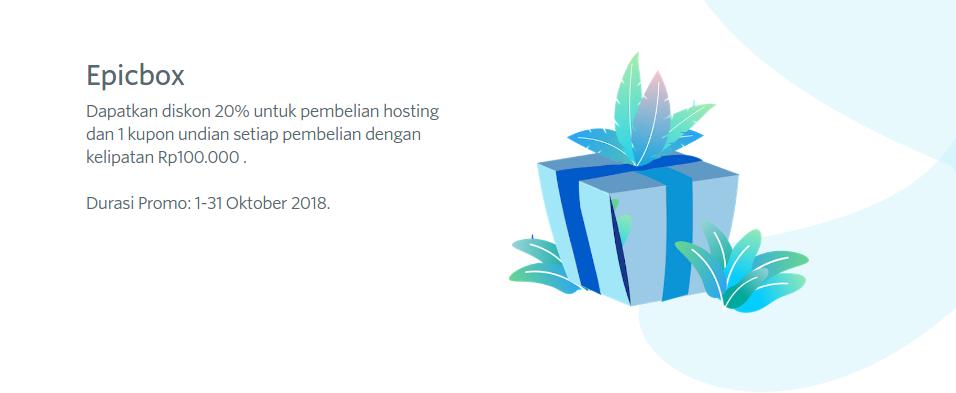 diskon hosting ulang tahun domainesia