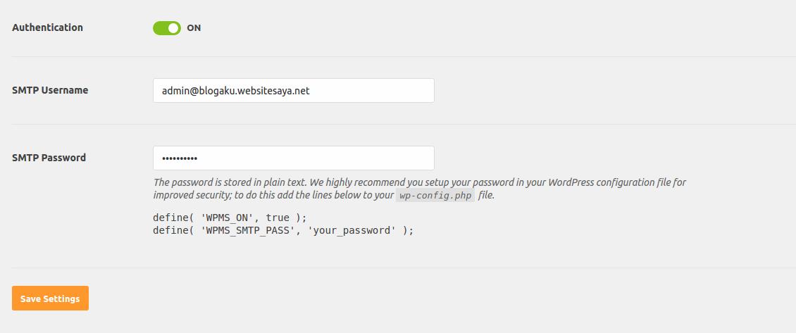 cara menggunakan Plugin WP Mail SMTP