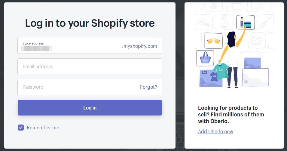 cara custom subdomain Shopify melalui Client Area