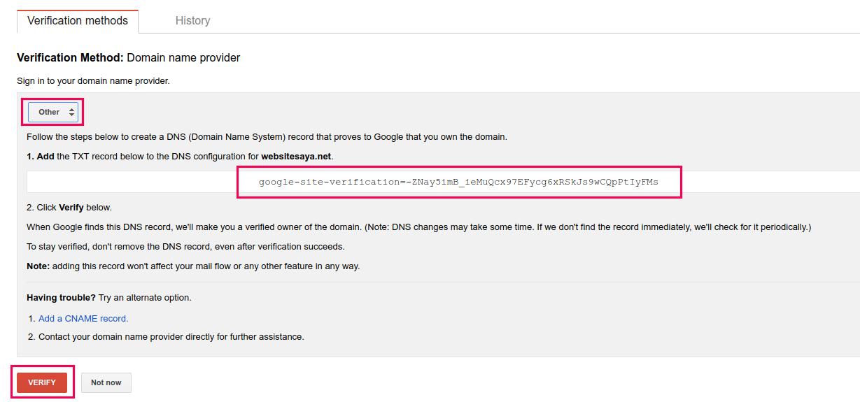 cara menggunakan google webmaster tools