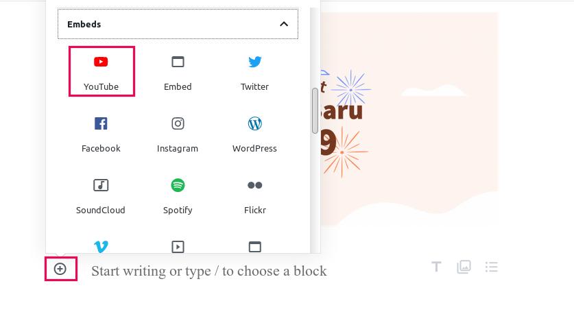 cara menggunakan editor gutenberg wordpress