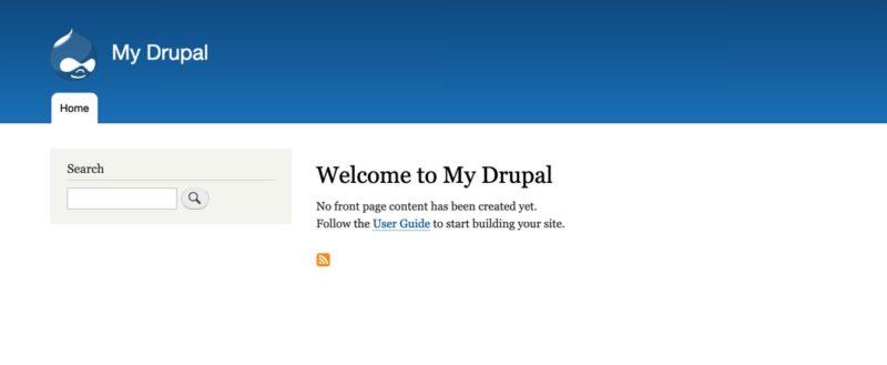 Cara install drupal di hosting