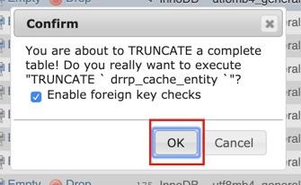 cara reset password drupal
