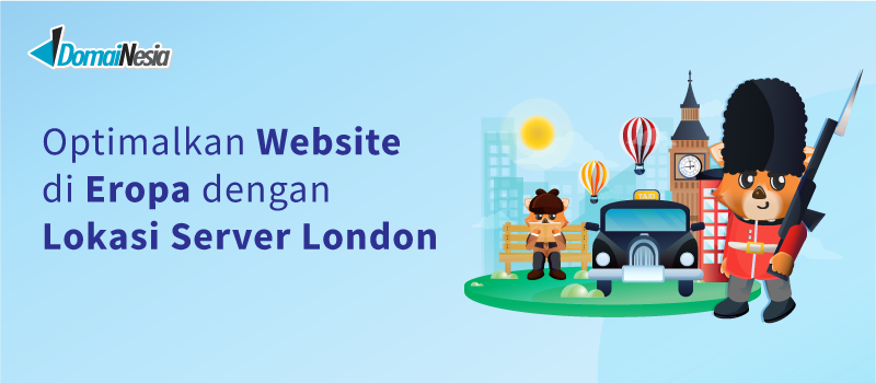 lokasi server london