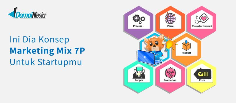 Konsep Marketing Mix 7p Untuk Startup