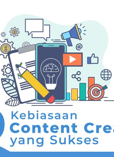 Ebook 9 Kebiasaan Content Creator Sukses
