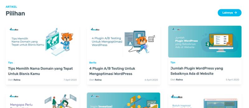 tutorial membuat website mudah