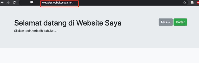 Cara migrasi website manual
