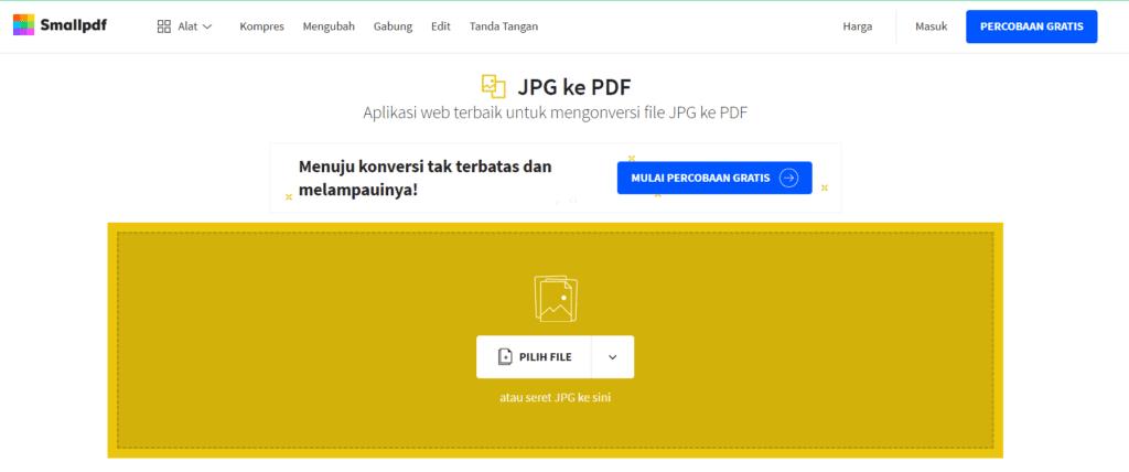 100 Mudah 11 Cara Mudah Ubah File Jpg Ke Pdf Domainesia