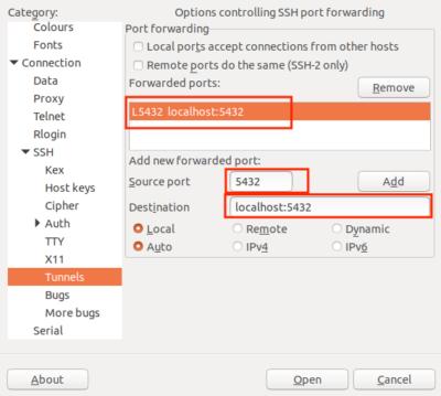 Remote PostgreSQL