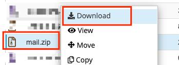 Cara Backup Email di Hosting