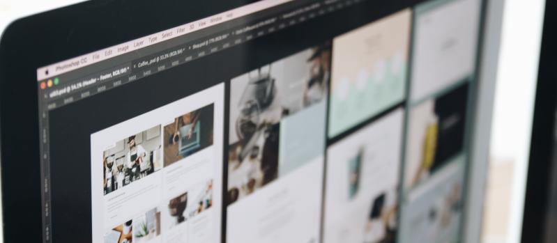 Desain Website Modern