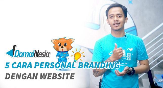 5 Cara Personal Branding dengan Website