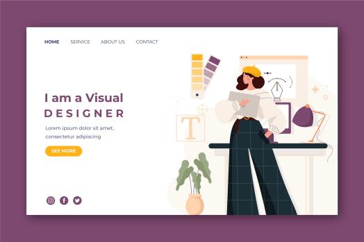 Desain untuk Personal Website