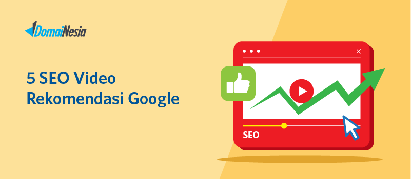 5 seo video rekomendasi google